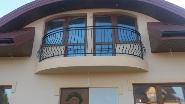 Balustrada balkonowa lukowa Kuznocin