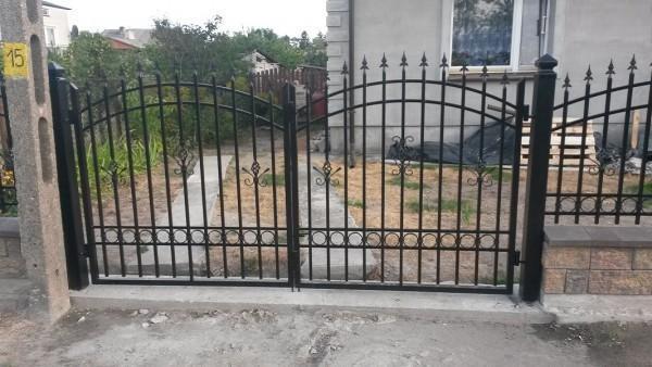 Brama Dwuskrzydłowa Rybno