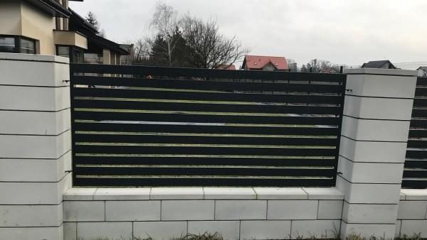 Ogrodzenie Nowoczesne Gładkie Sochaczew